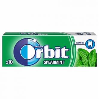 ORBIT Orbit spearmint dražé, 14g