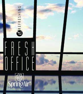 SPRING AIR NÁPLŇ PRE CRYPTOSCENT - FRESH OFFICE 1000ML