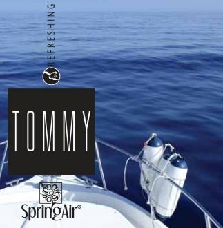 SPRING AIR NÁPLŇ DO OSVIEŽOVAČA TOMMY- SPRAY 250ML
