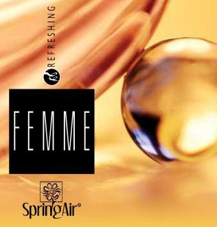 SPRING AIR NÁPLŇ DO OSVIEŽOVAČA FEMME- SPRAY 250ML