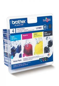"BROTHER MULTIPACK ""DCP 145C/165C/MFC 250C"", ( B+C+M+Y )"