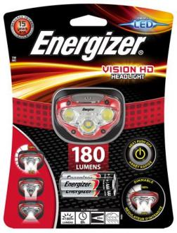 "LAMPA NA HLAVU, 3 LED, 3XAAA, ENERGIZER ""HEADLIGHT VISION HD"""