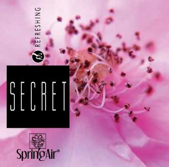 SPRING AIR NÁPLŇ DO OSVIEŽOVAČA SECRET- SPRAY 250ML