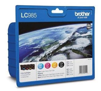 "BROTHER MULTIPACK ""DCP J125/J315W/J515W"", ( B+C+M+Y )"
