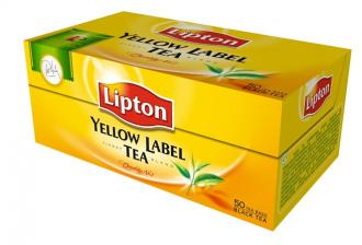 "LIPTON Čaj Lipton""yellow label"", 50 x2g"
