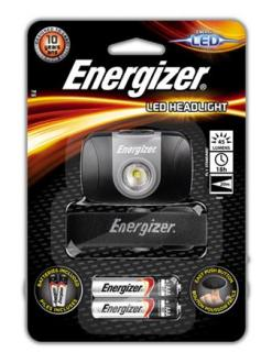 "LAMPA NA HLAVU, 1 LED, 2XAAA, ENERGIZER ""HEADLIGHT LED"""